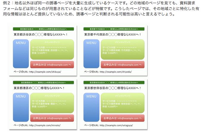 Google_ウェブマスター向け公式ブログ__誘導ページ(Doorway_Page)はガイドライン違反です