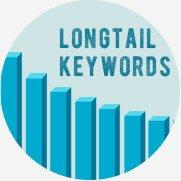 ロングテールキーワードを狙うことで長期にわたる集客効果を狙います