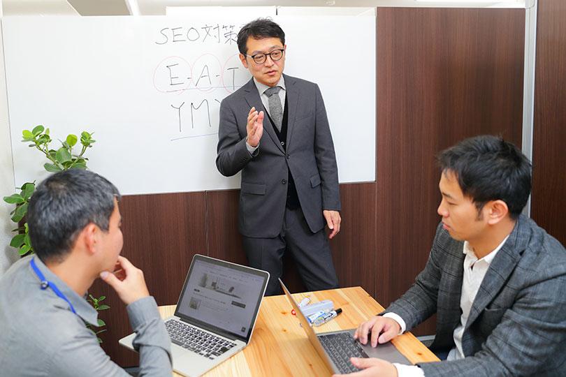 企業内Webマーケティング研修で、Web担当者のスキルアップをお手伝いします
