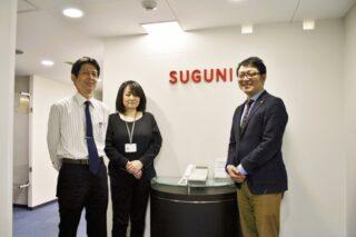 SUGUNI株式会社様