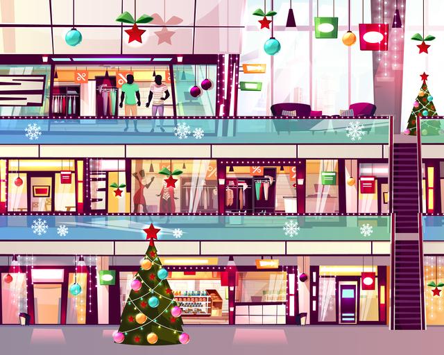 ショッピングモール イメージ